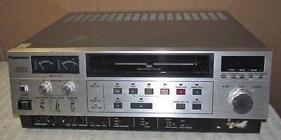 Vtg-PANASONIC-AG-6200-VHS-VCR-Not-Workin