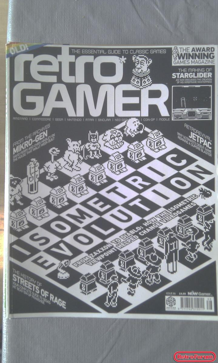 Retro Gamer Magazine #86