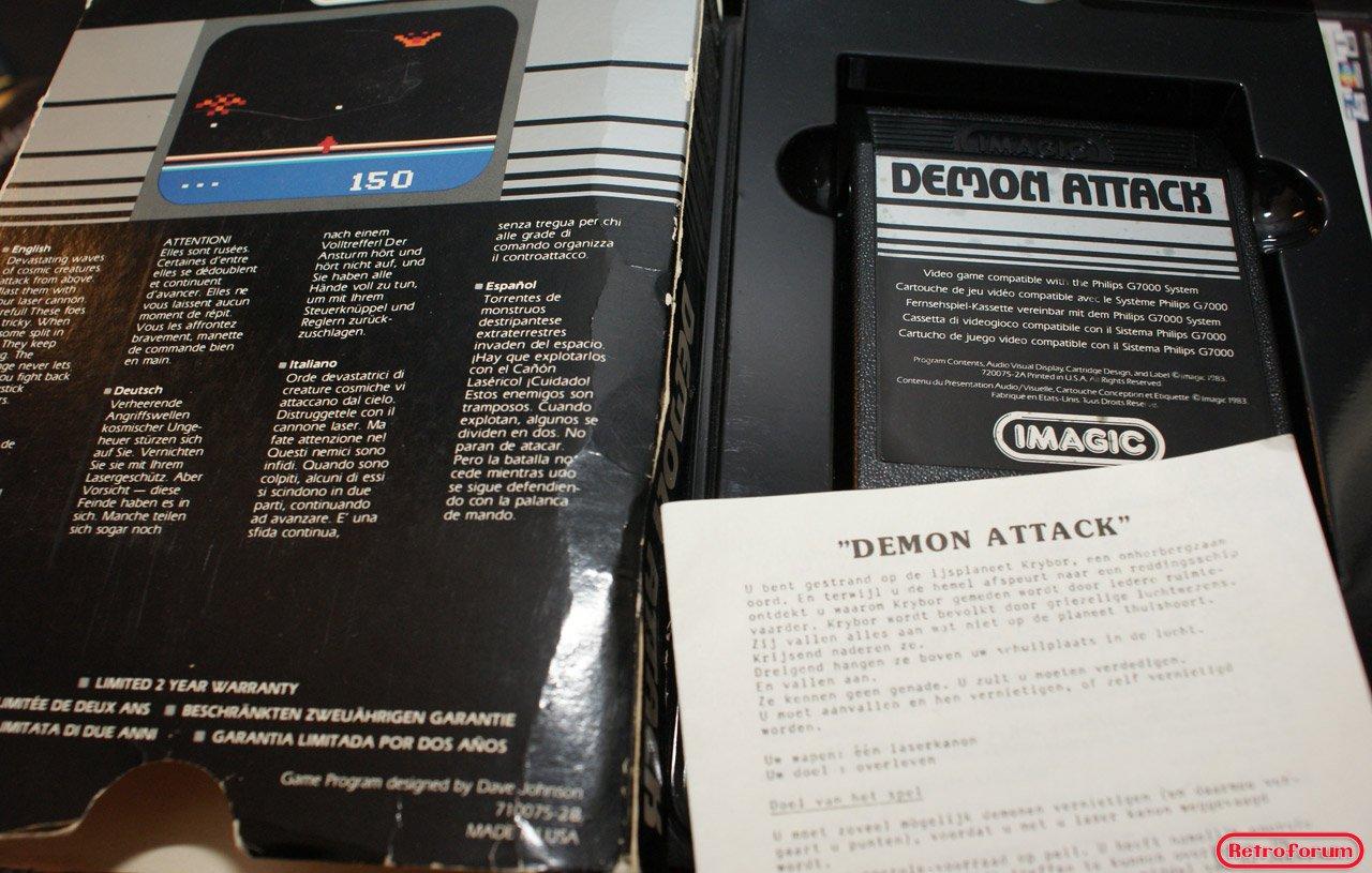 Demon Attack voor de Videopac G7000