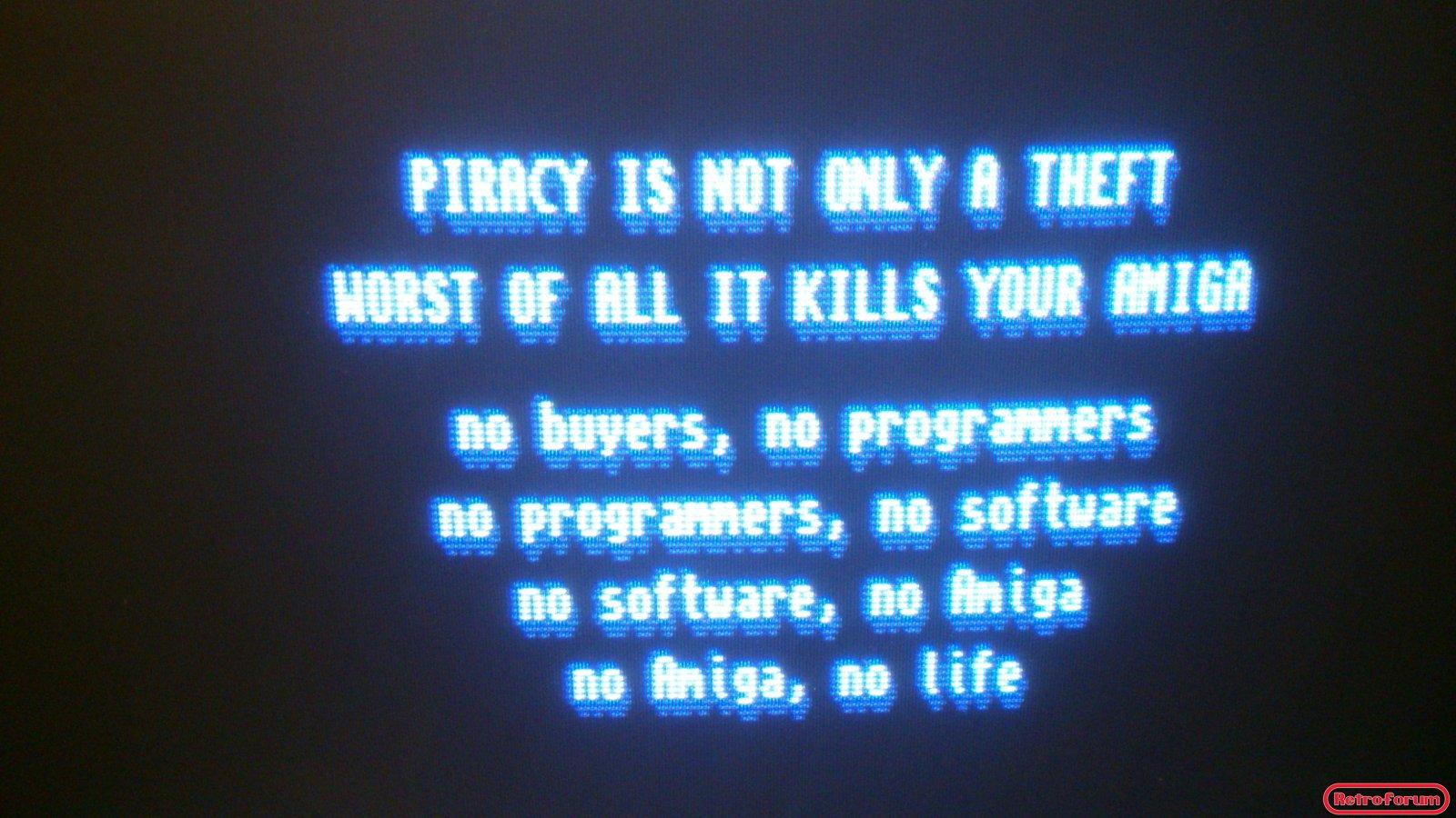 no Amiga, no life