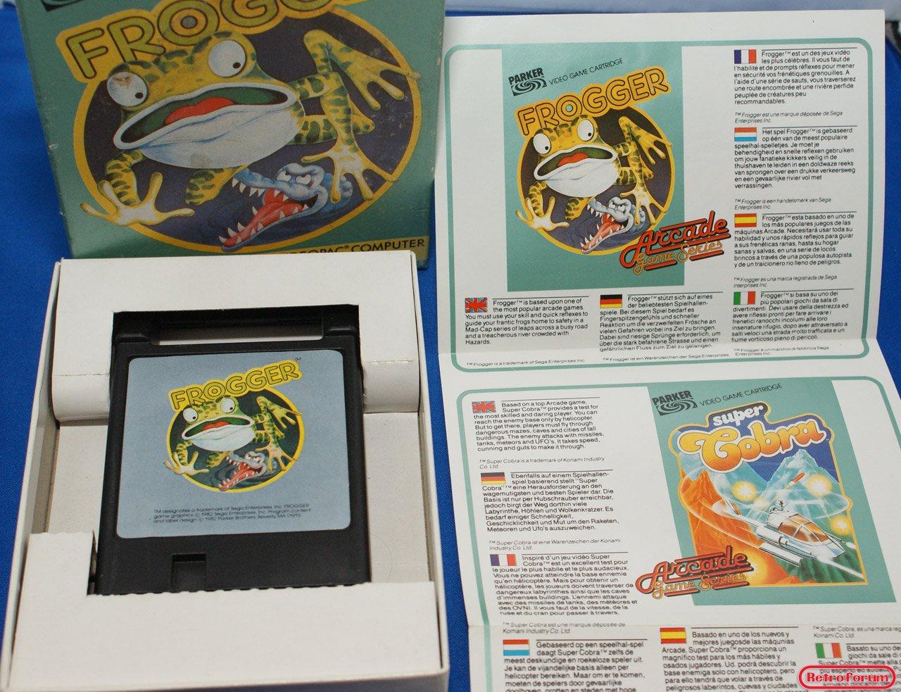 Frogger voor de Philips Videopac G7000