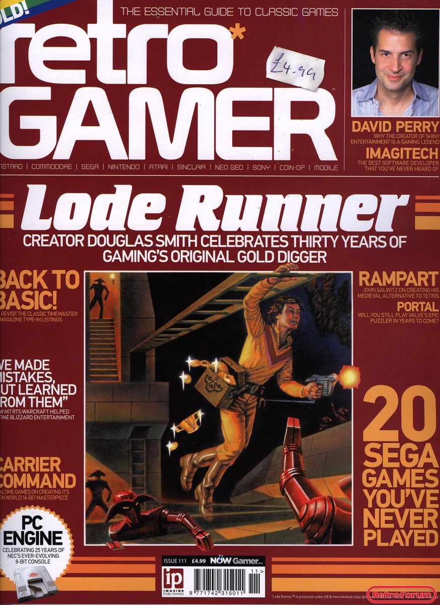 Retro Gamer Issue 111 (Januari 2013)
