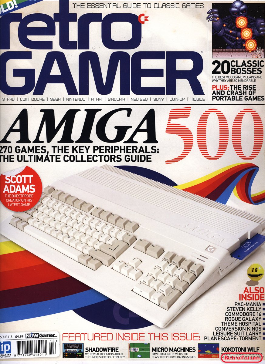 Retro Gamer issue #113 maart 2013