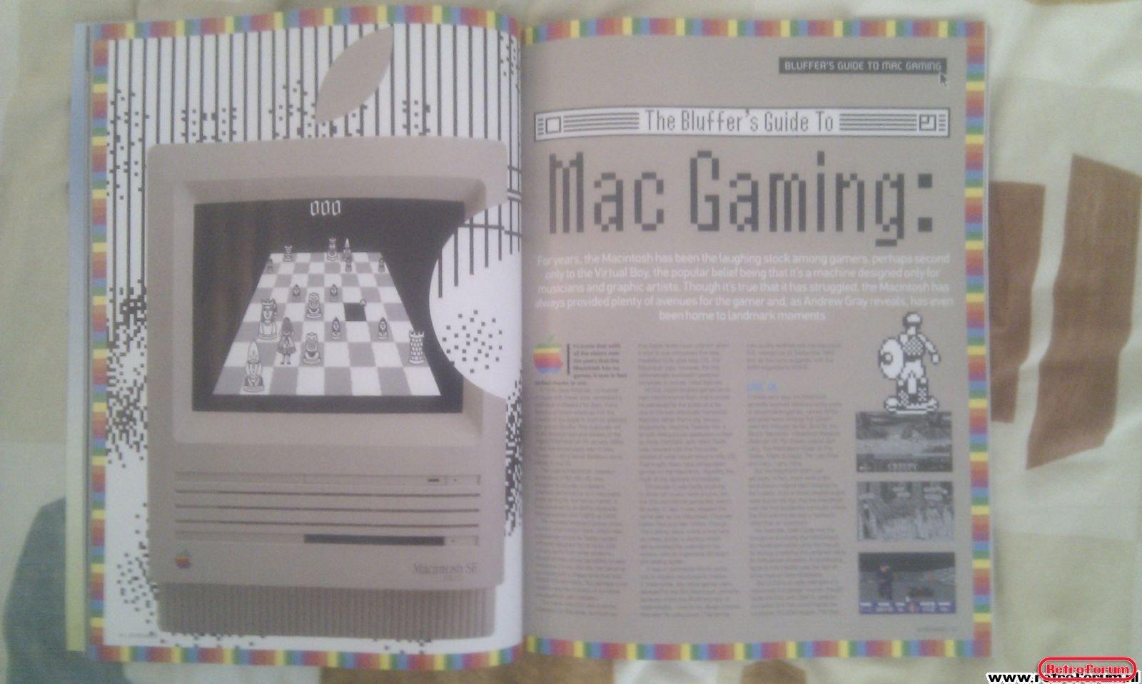 Retro Gamer Magazine Artikel Mac Gaming