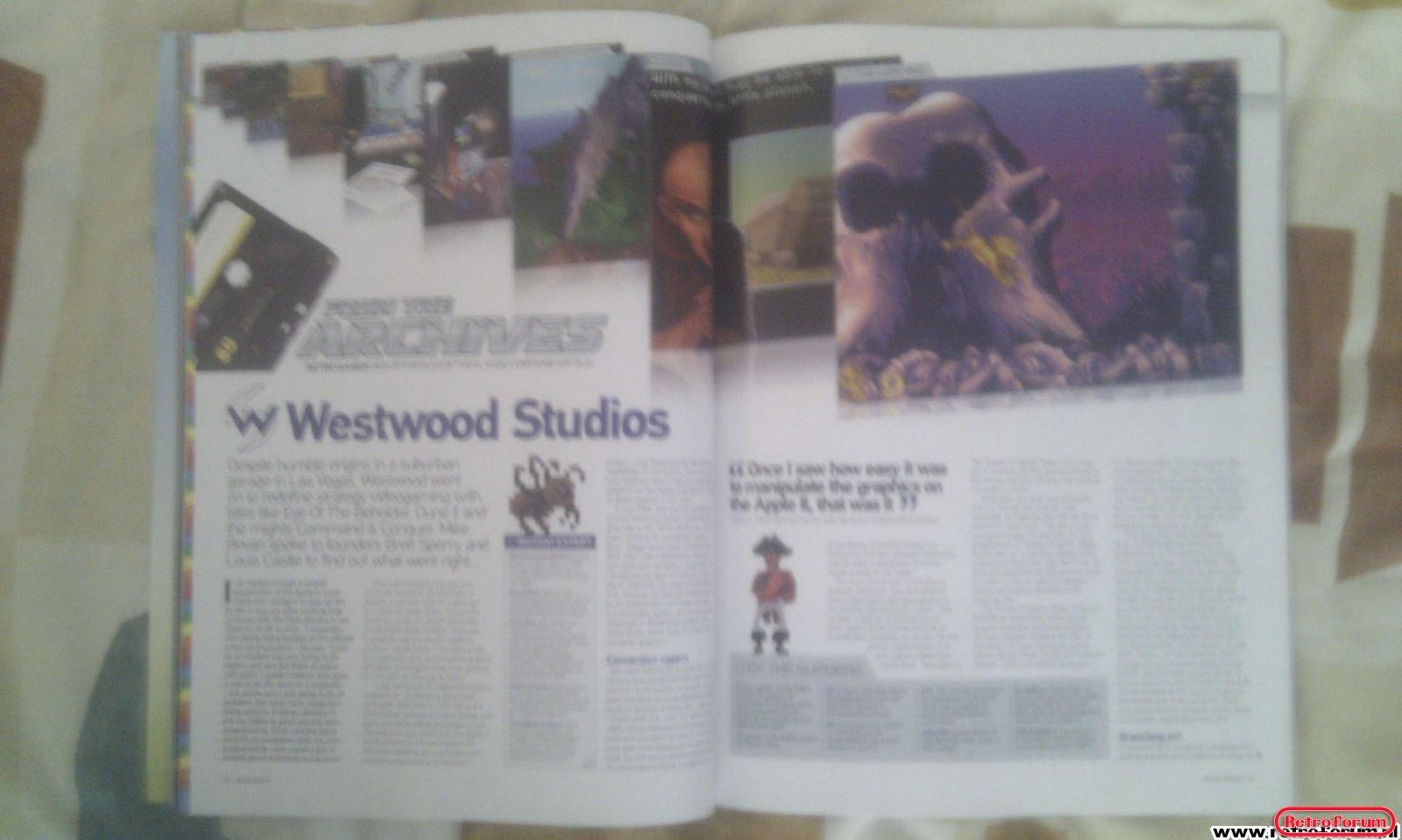 Retro Gamer Magazine Artikel Westwood Studio