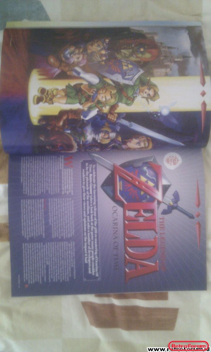 Retro Gamer Magazine Artikel Zelda Ocarina of Time