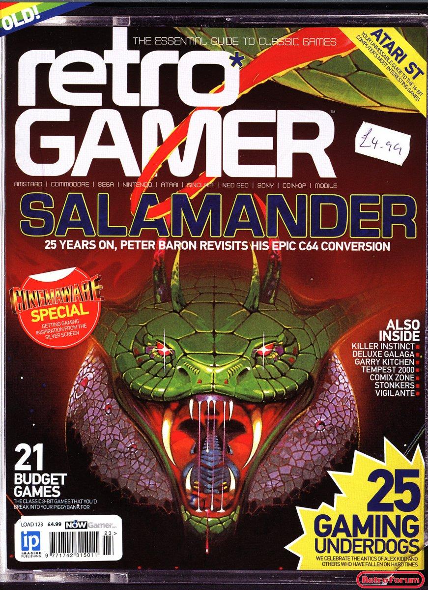Retro Gamer #123 December 2013