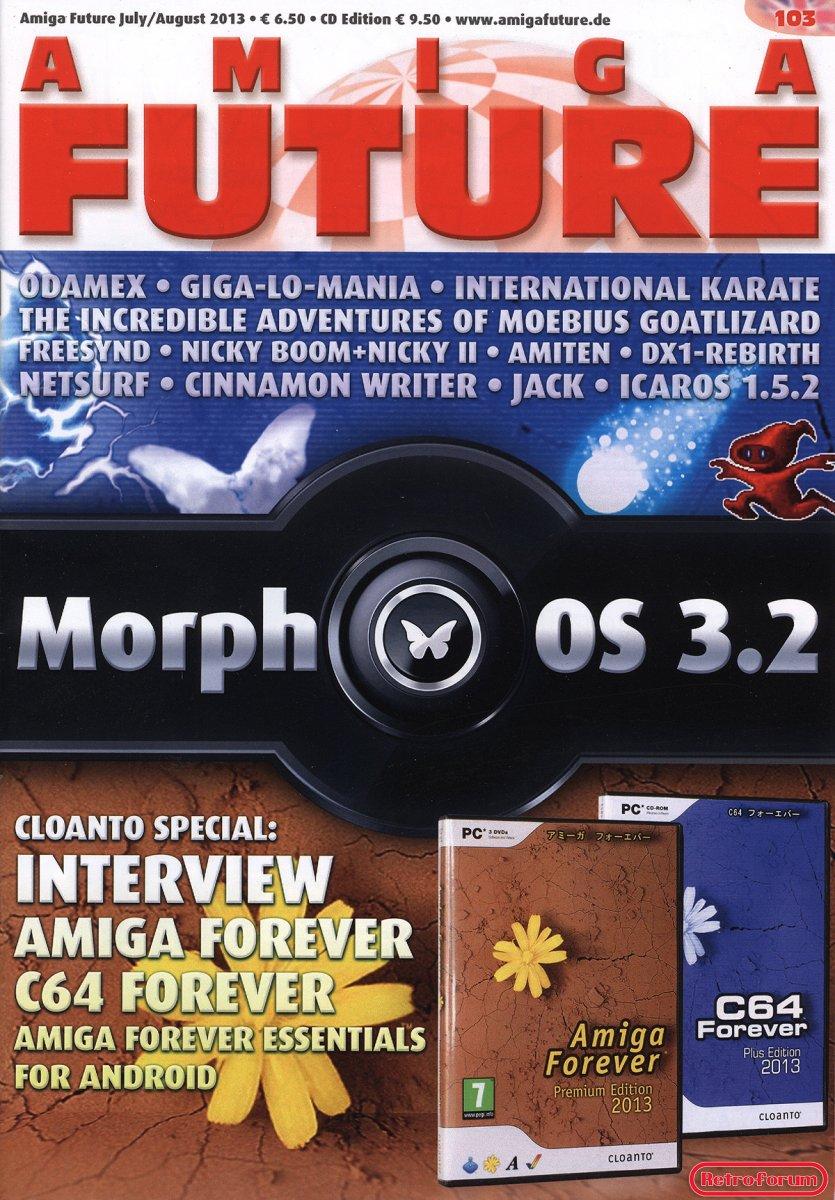 Amiga Future 103, juli/augustus 2013