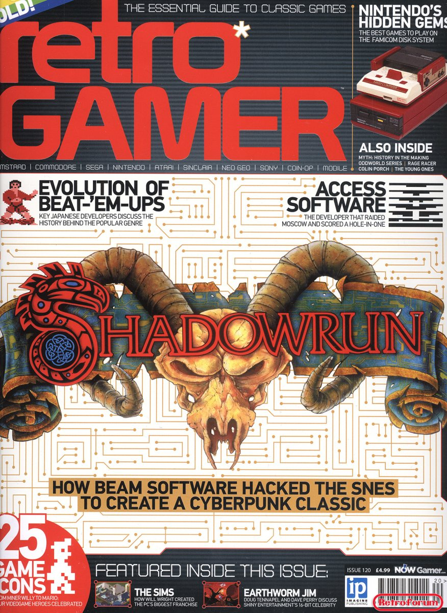 Retro Gamer #120 September 2013