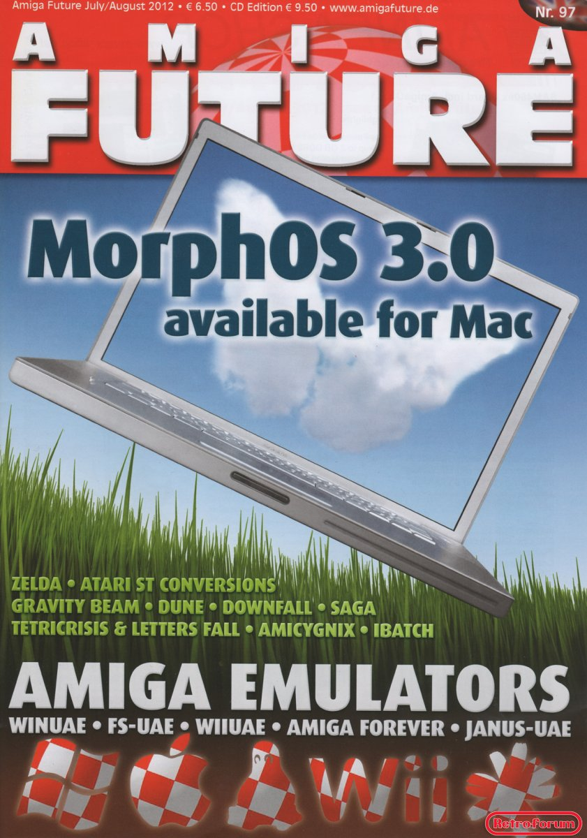 Amiga Future #97 Juli/Augustus 2012