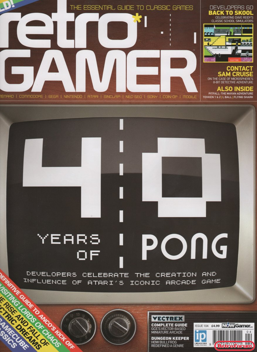 Retro Gamer issue #104