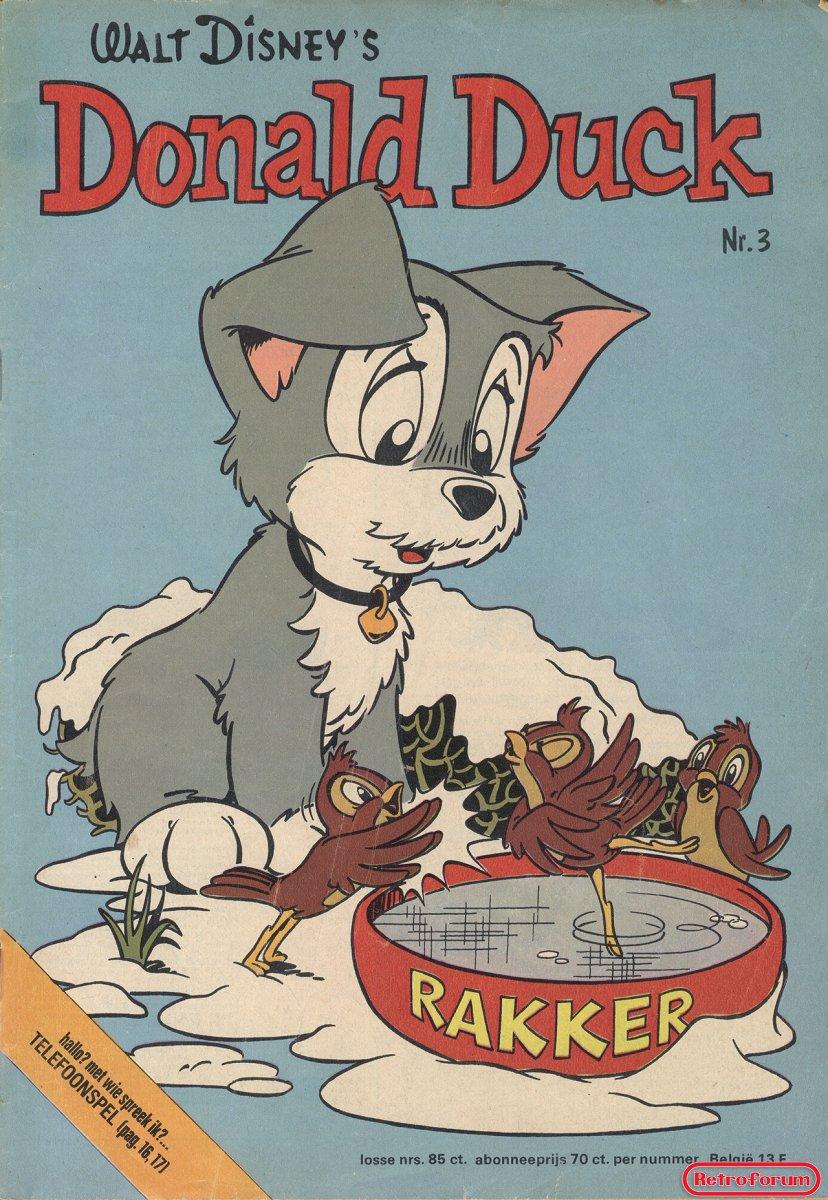 Donald Duck #3 1975