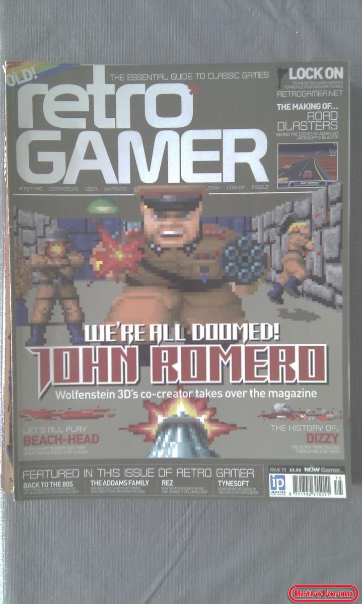 Retro Gamer Magazine #75