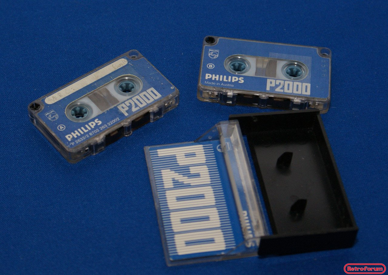 Philips P2000 cassettes