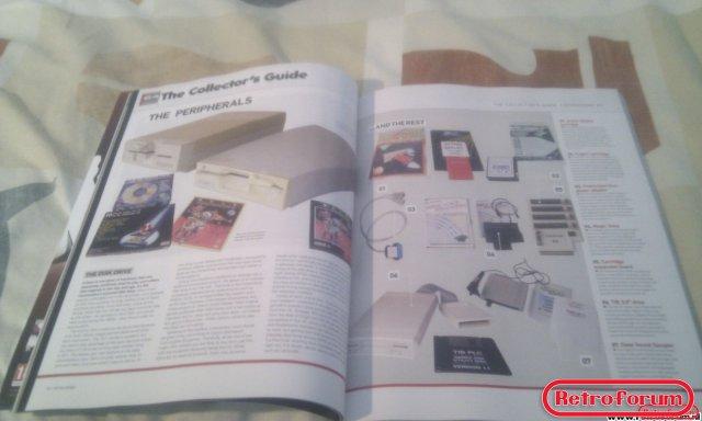 Retro Gamer Magazine Artikel C64 peripherals