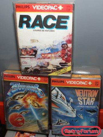 Videopac+ games