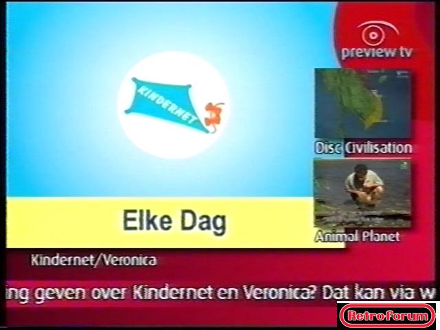 Zo keek ik destijds Kindernet/Nickelodeon (2002)