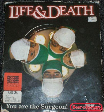 Life & Death (Amiga) voorkant
