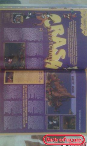 Retro Gamer Magazine Artikel Crash Bandicoot