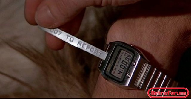 James Bond   message watch