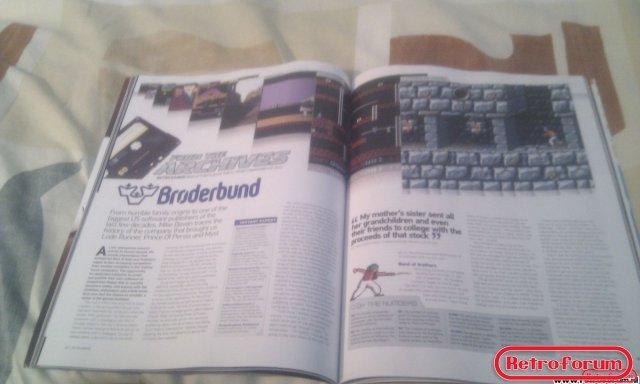 Retro Gamer Magazine Artikel Broderbund