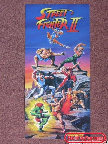 Street Fighter II Poster SNES (2)
