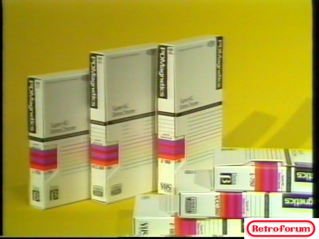 3 soorten video; Beta, Video2000, VHS... PDMagnetics!