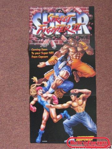 Street Fighter II Poster SNES