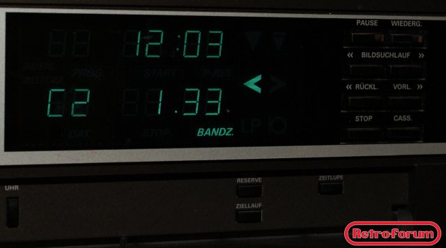 Grundig V2000 recorder