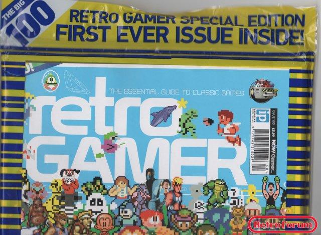 100e editie van Retro Gamer: nummer 100 en nummer 1 samen verpakt
