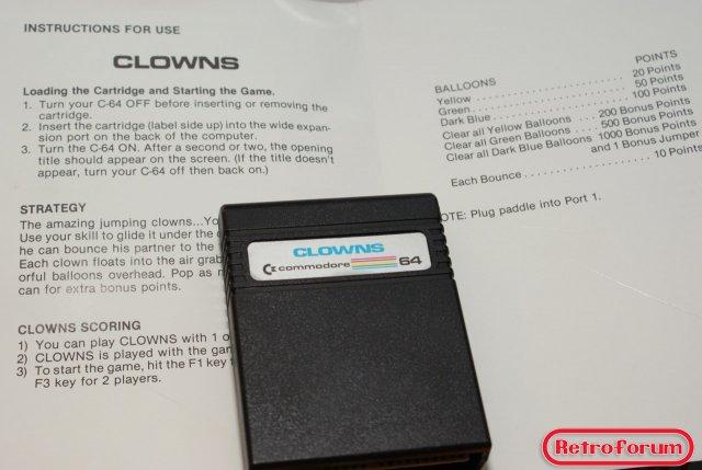 Clowns voor Commodore 64