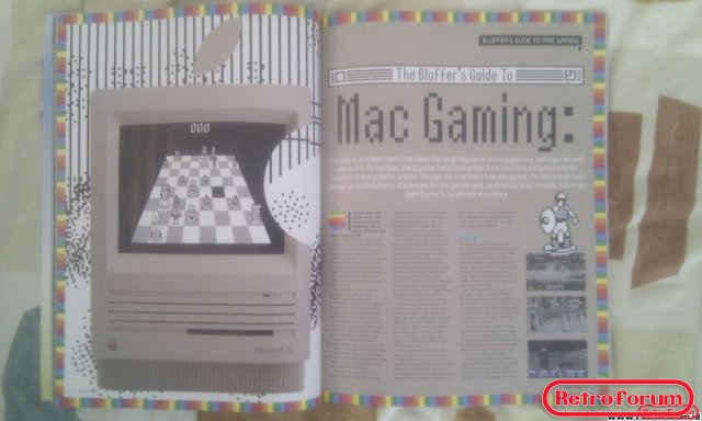 Retro Gamer Magazine Artikel Mac Gaming
