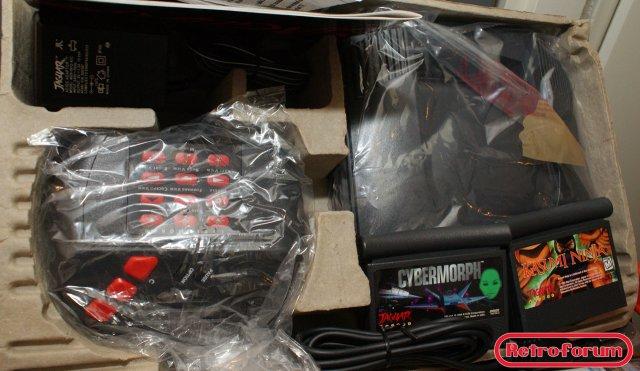 Atari Jaguar, inhoud van de doos