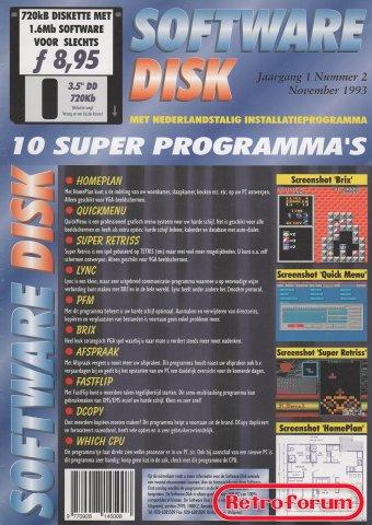 Software Disk jaargang 1 volume 2 - voorkant