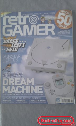 Retro Gamer Magazine #50
