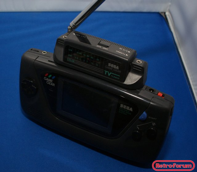 TV Tuner voor de Sega Game Gear in de Game Gear