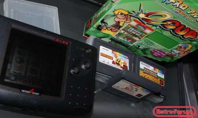Neo Geo Pocket Color + spellen