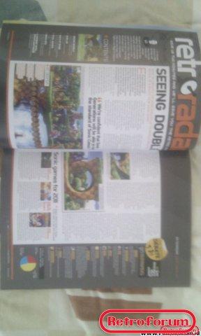 Retro Gamer Magazine Artikel Retro Radar