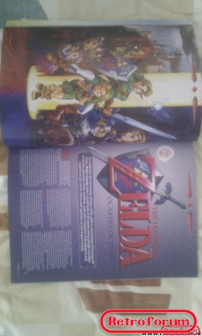 Retro Gamer Magazine Artikel Zelda Ocarina of Time