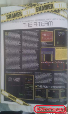 Retro Gamer Magazine Artikel The A-Team