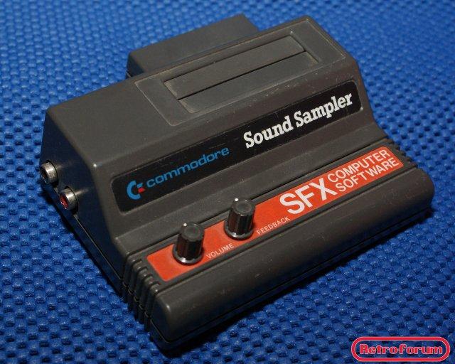 Commodore SFX series Sound Sampler