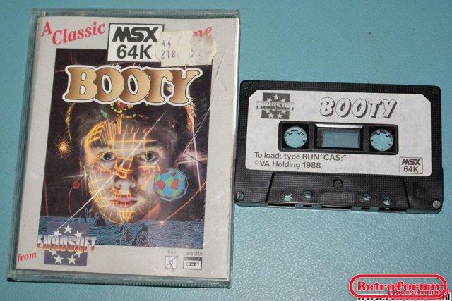 Booty voor MSX 64K