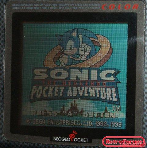 Sonic the Hedgehog pocket adventure (NGPC)
