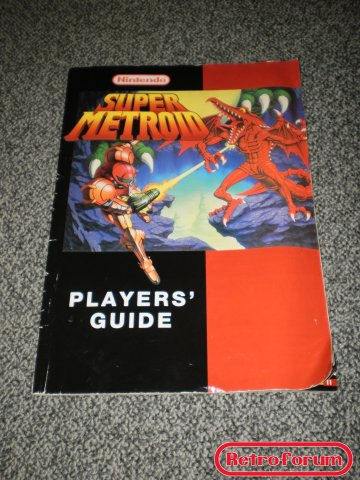 Super Metroid players guide