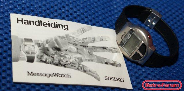 Seiko Message Watch met handleiding