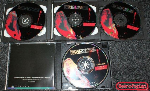 Phantasmagoria 1 (7 cd's)