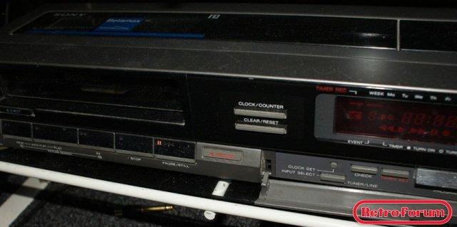 Sony Betamax recorder