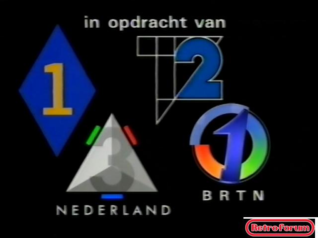 Eindscherm 'Nederland voor Bosnië' (Benefietuitzending uit 1994)