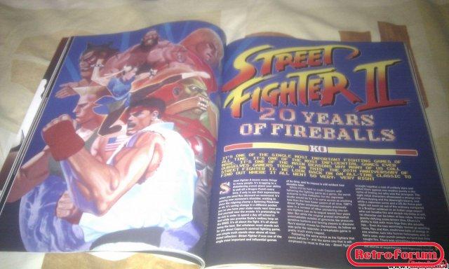 Retro Gamer Magazine Artikel Street Fighter II