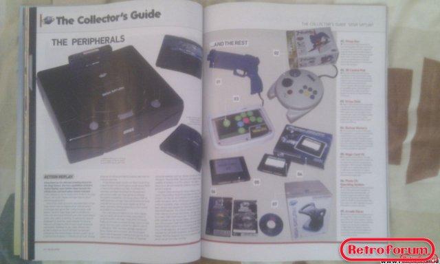 Retro Gamer Magazine Artikel Sega Saturn Peripherals
